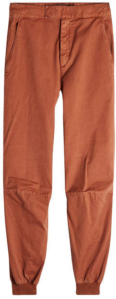 Yeezy Cotton Pants with Fitted Ankles