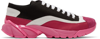 Ion Pink and Black N6 Sneakers