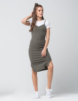 Say What Ribbed Bodycon Tank Dress