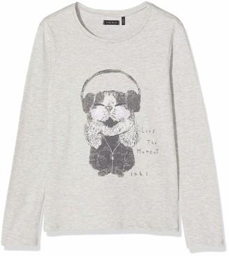 Ikks Junior Girl's Tee Shirt Ml Animal Hamster Casque T