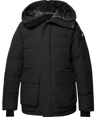 Canada Goose Wedgemount Quilted Canvas Hooded Down Jacket