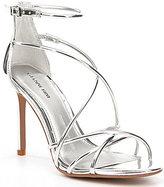Gianni Bini Talisia Tubular Strappy Mirrored Dress Sandals