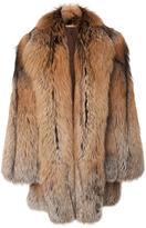 Michael Kors Cross Fox Fur Coat