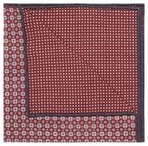 Brunello Cucinelli Floral Print Silk Pocket Square