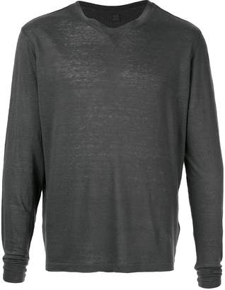 120% Lino long sleeved top