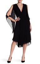 Do & Be Do + Be V-Neck Pleated Midi Dress