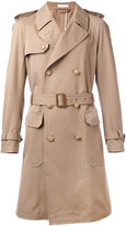 Boglioli double breasted trench coat - men - Cotton/Cashmere - 48