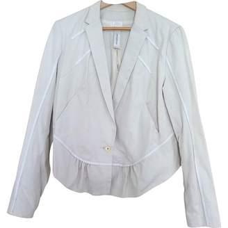 Anne Valerie Hash Ecru Cotton Jacket for Women