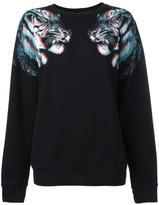 Marcelo Burlon County of Milan Soledad sweatshirt - women - Cotton/Polyester - M