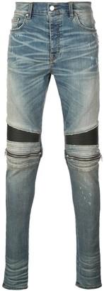 Amiri Moto skinny-fit jeans