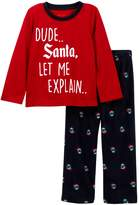 Joe Fresh Holiday Pajama Set (Little Boys)