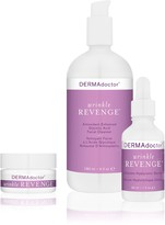 Wrinkle Revenge Cleanser, Serum & Eye Trio