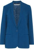 Stella McCartney Mattea Stretch-cady Blazer - Cobalt blue