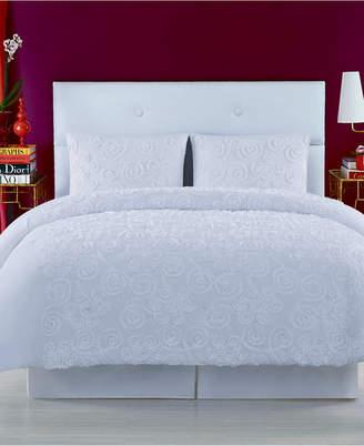 Christian Siriano Pretty Petals King Duvet Set Bedding