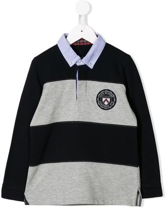 Lapin House Striped Polo Shirt