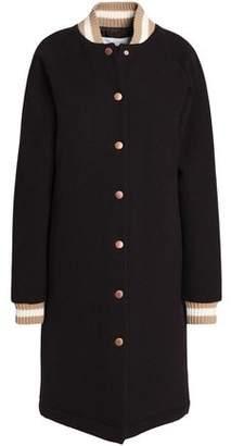 See by Chloe Appliqued Wool-blend Coat