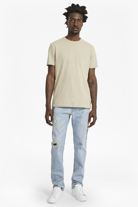 French Connection Paint and Patch Denim Jeans