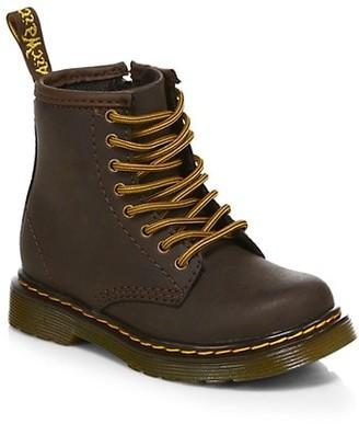 Dr. Martens Little Kid's & Kid's 1460 Wildhorse Leather Boots