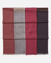 N.Peal Layered Colour Block Scarf