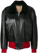 Calvin Klein zipped bomber jacket