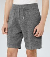 Reiss Reiss Arc - Jersey Shorts In Grey, Mens