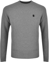 Luke 1977 Natch Of The Day Knit Jumper Grey