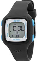 Rip Curl Women's 'Candy Digital' Quartz Plastic and Silicone Sport Watch, Color:Blue (Model: A2466G-ABL)