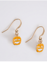 M&S Collection Pumpkin Drop Earrings