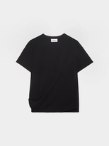 DKNY Short Sleeve Tee With Drape