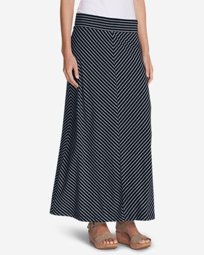 Eddie Bauer Women's Kona Maxi Skirt - Stripe
