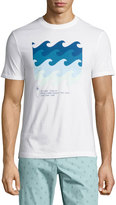 Original Penguin Wave-Graphic Jersey T-Shirt, White