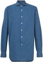 Kiton chambray shirt