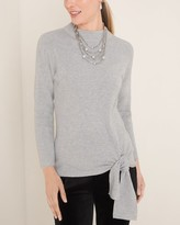 Chico's Chicos Side-Tie Pullover Sweater