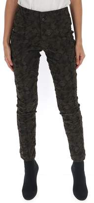 Issey Miyake Patterned Trousers