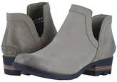 Sorel Lolla Cut-Out Bootie (Sage Leather) Women's Shoes