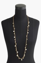 J.Crew Women's Long Crystal & Faux Pearl Necklace