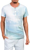 Sol Angeles Quintana Short Sleeve Henley