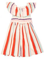 Margherita Infant Girl's Stripe Fit & Flare Dress