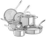 KitchenAid 10 Piece Stainless Steel Cookware Set