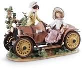 Lladro YOUNG COUPLE WITH CAR