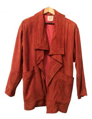 Loewe Red Suede Jackets