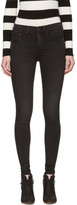 Rag & Bone Black 10 Inch Skinny Jeans