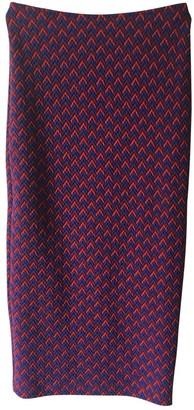 American Apparel Red Cotton - elasthane Skirt for Women