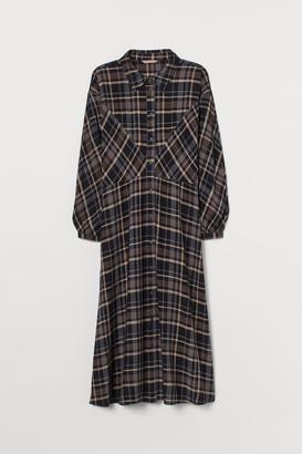 H&M H&M+ Shirt Dress - Black