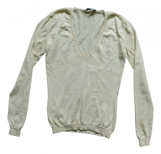 Alexander McQueen Beige Cashmere Knitwear