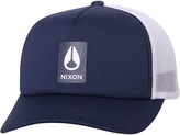 Nixon Badge Foam Trucker Cap Blue