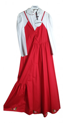 VIVETTA Red Cotton Dresses