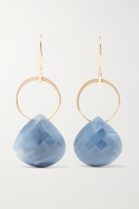 Melissa Joy Manning 14-karat Gold Opal Earrings