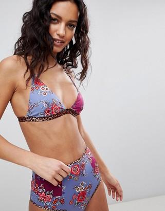 Tigerlily Stevie corset high waist bikini bottom