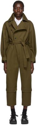 Stella McCartney Khaki Military Jumpsuit